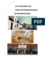 Ruta Histórica de Las Brigadas Internacionales en Madrigueras