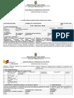 PCA - Planificación Curricular Anual (2016-2017)