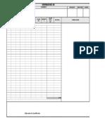 Formato de Generador Concreto m3