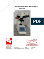 Microdurometro Vickers