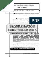 Programacion Anual 2015 FCC