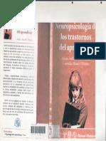 Ardila. Neuropsicología de Los Trastornos Del Aprendizaje