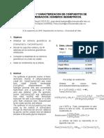 Formato Informe Laboratorio de Quimica II