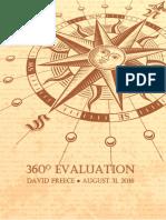 David Preece Rank Advancement Application Portfolio - August 2016