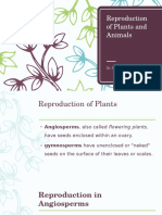 Reproduction of Plants and Animals