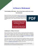Guard & Reserve Retirement