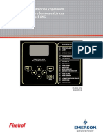 Manual de instalacion y operaciones en español para controladores Firetrol para motores eléctricos
