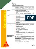 SikaFlex-Pro - Data Sheet