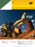 Catalogo Retroexcavadora Cargadora 416f2 Caterpillar Especificaciones