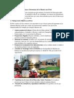 Ventajas vs Desventajas de La Minería en El Perú