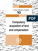 Compulsory Land Acquisition and Compensation-FAO Land Tenure Study