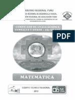 Compendio de Matemática 2do Grado - Ece - 2013