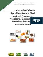 Cadenas Agroalimentarias