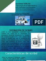 Uso de herramientas tecnologicas Scribd