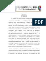 La Evaluación en el Sistema Educativo Venezolano