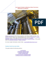 Amtec Consultants Expert Guide to Stainless Steel Corrosion Resistance Problems