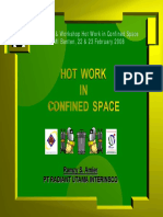 07 Hot Work in Confined Space - Ramzy S Amier