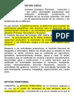 4.1 REGULACIÓN DEL USO DEL SUELO