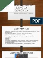 Variacion de La Lengua Quechua