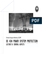 EE 434 Power System Protection