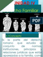 UNIDAD IV Derecho Familiar
