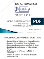 Modelos Variable de Estado