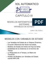Modelos Variable de Estado