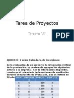 Tarea de Proyectos
