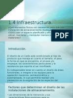 1.4 Infraestructura CEDIS