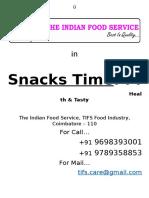 Snacks Time Menu List[1]