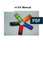 Mini DV Manual