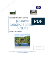 Japanese Language Course Syllabus