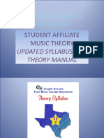 2016 Theory Presentation Updated Sept 2016