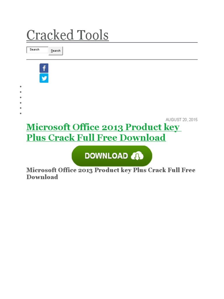 microsoft office 2015 download with crack