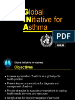 GINA (Global Initiatives for Asthma)