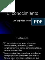2.El Conocimiento