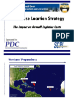 Warehouse Location Strategy- SCPI