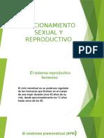 Funcionamiento Sexual y Reproductivo
