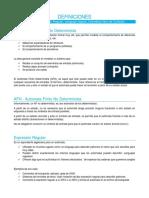 Compiladores - Definiciones