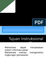 Sistem Informasi Pemasaran Dan Analisis Lingkungan Pemasaran
