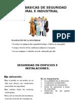 Normas Basicas de Seguridad e Higiene Industrial