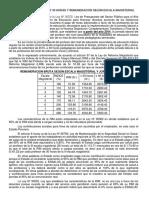 JORNADA LABORAL DE 30 Y 40 HORAS Y REMUNERACIÓN SEGÚN ESCALA MAGISTERIAL