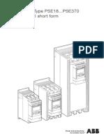 Softstarters Type PSE18...PSE370