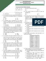 Evaluacion Final Octavo 1 Periodo 2016