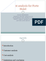Conjoint Analysis for Forte Hotel