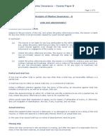 Marine Insurance Course Paper 8
