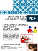 Enfoques Sobre Habilidades Sociales