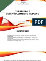 Currículo e Desenvolvimento Humano