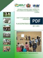 PEI-2011-2015.pdf INSTITUTO NACIONAL AGROP Y FORESTAL BOLIVIA.pdf