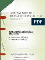 2. Fundamentos de Gerencia de Proyectos - 2016